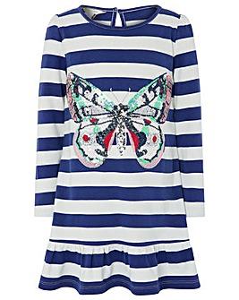 Monsoon Candy Butterfly Sweat Dress