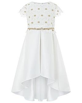 Monsoon Daisy Lace Hi-Low Dress