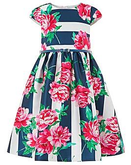 Monsoon Bloom Stripe Dress