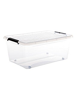 40L Easy Roll Wheel Storage Box