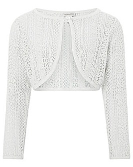 Monsoon Cora Crochet Cardigan