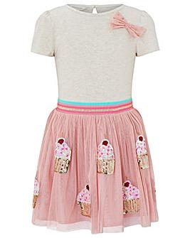Monsoon Disco Cupcake Dress