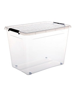 80L Easy Roll Wheel Storage Box