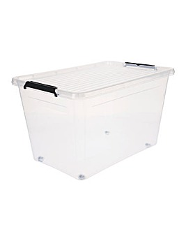 60L Easy Roll Wheel Storage Box