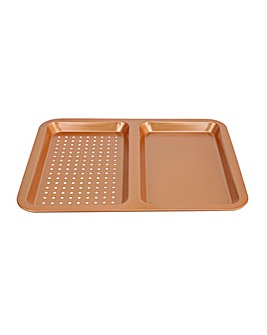 Copper Dual Oven Tray