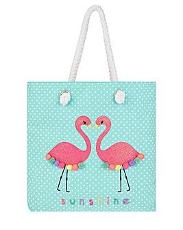 Accessorize Sequin Felicity Flamingo Bag