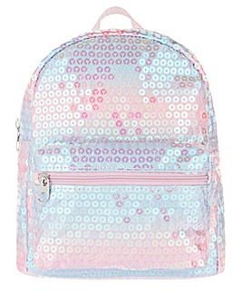 Accessorize Mermaid Sequin Mini Backpack