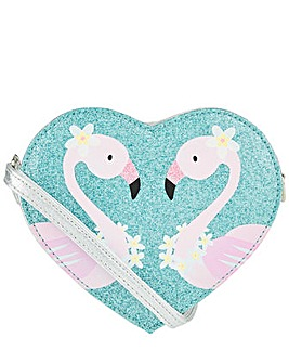 Accessorize Felicity Flamingo Heart Bag