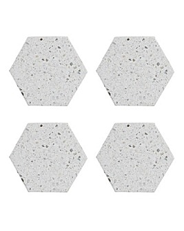 Typhoon Elements Terrazzo Coasters