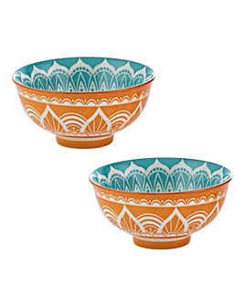 World Foods India Bowls 11.5cm Set of 2