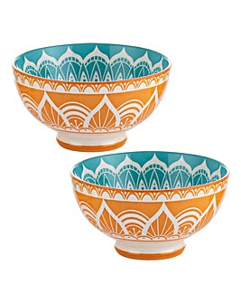 World Foods India Bowls 9.5cm Set of 2