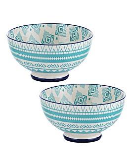 World Foods Lima Bowls 15cm Set of 2