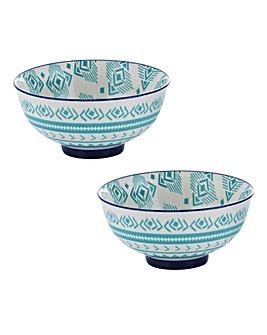 World Foods Lima Bowls 11.5cm Set of 2