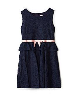 Yumi Girl Lace Peplum Dress
