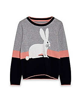 Yumi Girl Rabbit Jumper