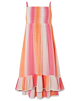 Monsoon Tie Dye Dip Hem Maxi