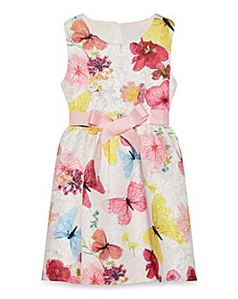 Yumi Girl Butterflies Prom Dress