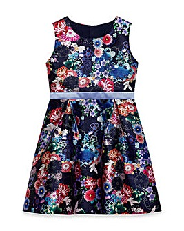 Yumi Girl Floral Prom Dress
