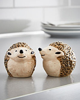 Hedge-Hugs Salt & Pepper Set