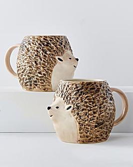 3D Hedgehog Mug