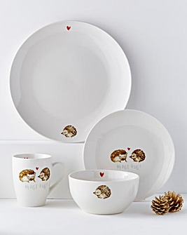 Hedge-hugs Hugs 16 Piece Dinnerset