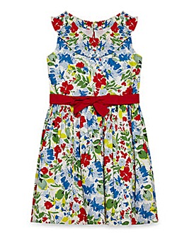 Yumi Girl Floral Bardot Dress