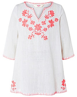 Accessorize Embroidered Kaftan