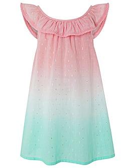 Accessorize Ombre Watermelon Dress