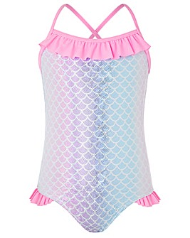 Accessorize Ombre Mermaid Swimsuit
