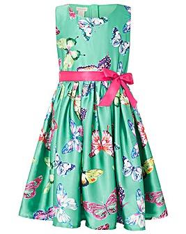 Monsoon Kew Butterfly Green Dress