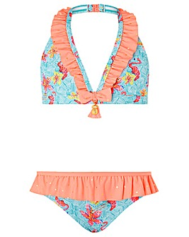 Monsoon Skye Flamingo Bikini