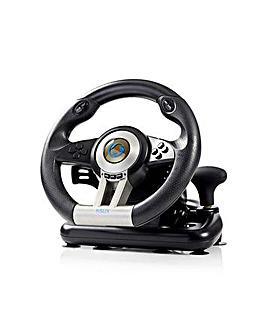 Nedis Gaming Wheel & Foot Pedals