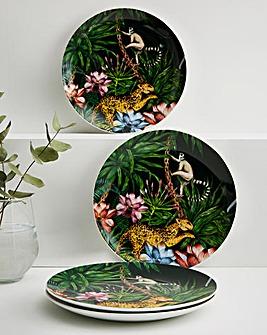 Joe Browns Luxurious Set of 4 Side Plates