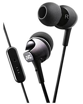 JVC In Ear Headphones with Mic