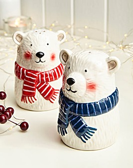 Parker The Polar Bear Salt & Pepper Set