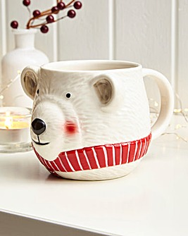 Parker The Polar Bear 3D Mug