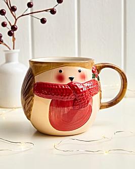 3D Robin Mug