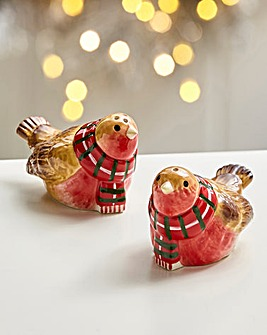Mistletoe Kiss Salt & Pepper Set