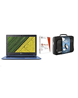 "Acer 14"" Laptop Case and Secutity Bundle"