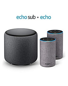 Amazon Echo Bundle with Sub