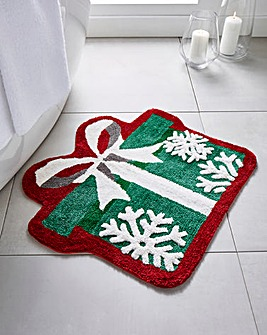 Christmas Present Bathmat