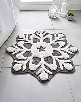 Snowflake Bathmat
