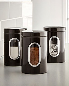 Shimmer Set of 3 Canisters