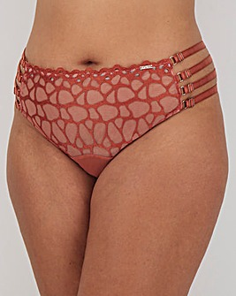 Figleaves Curve Desert Rose Thong