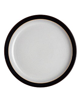 Denby Elements 4 Medium Plates Black