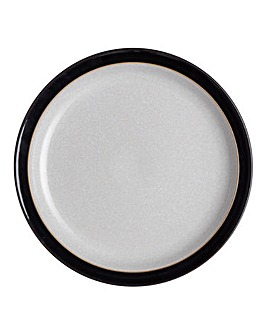 Denby Elements 4 Dinner Plates Black