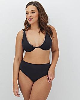 Figleaves Curve Maui Underwired Plunge Bikini Top
