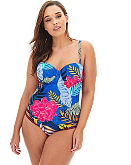 Figleaves Curve Miami Tropical Underwired Multiway Swimsuit