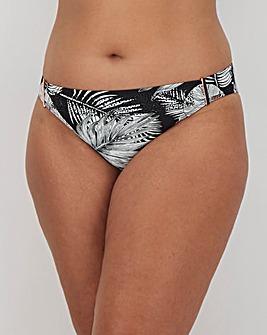 Figleaves Curve Tahiti Palm Print Bikini Bottoms