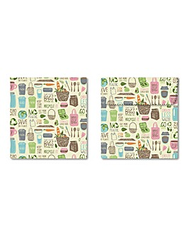 Tala Eco Sandwich and Snack Bag Set of 2